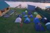 Лагерь на берегу озера Уткуль